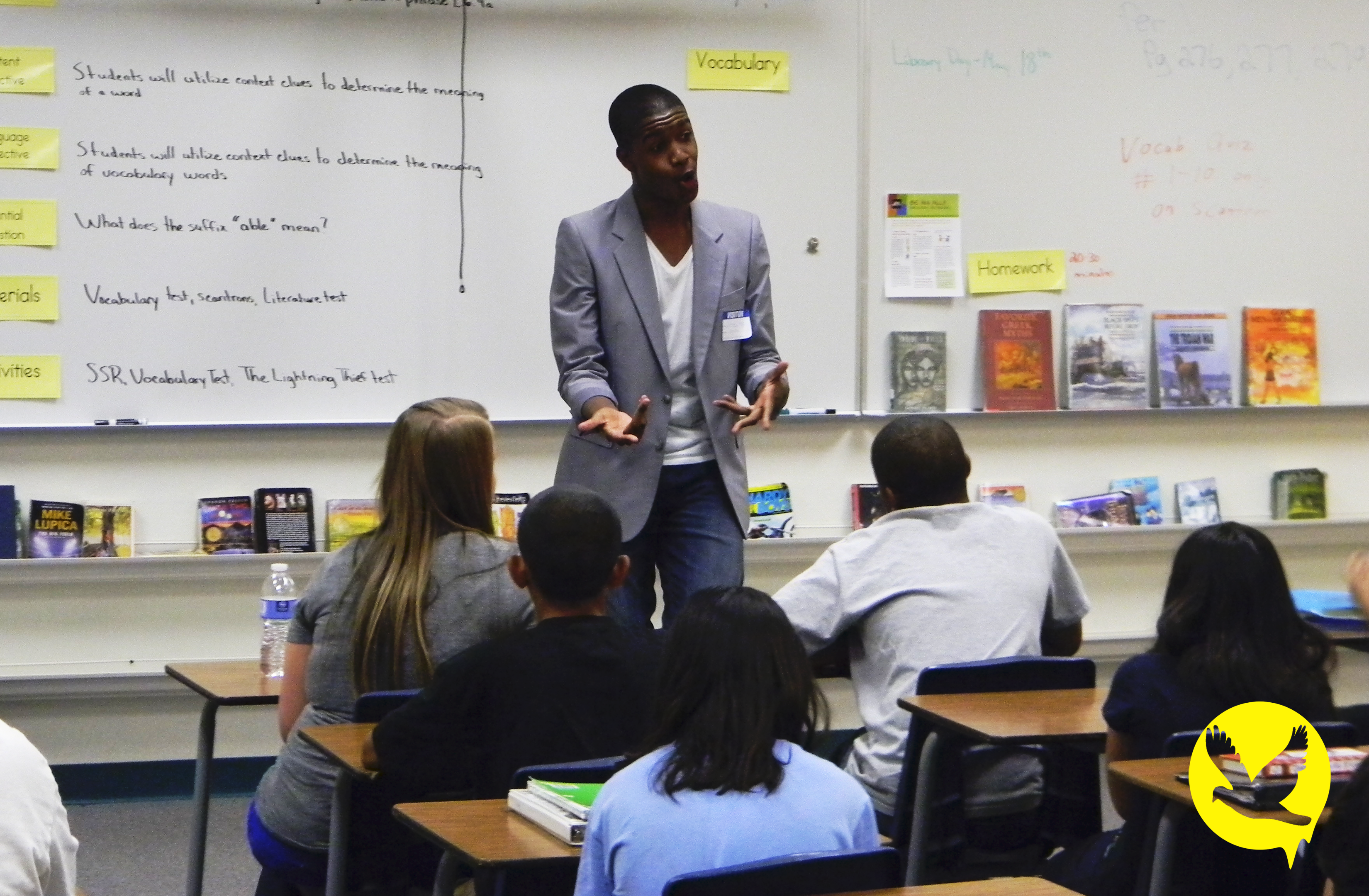 [Foundation FLY]: Bringing Foundation FLY to a Group of Students at Lied Middle School, Las Vegas, NV.