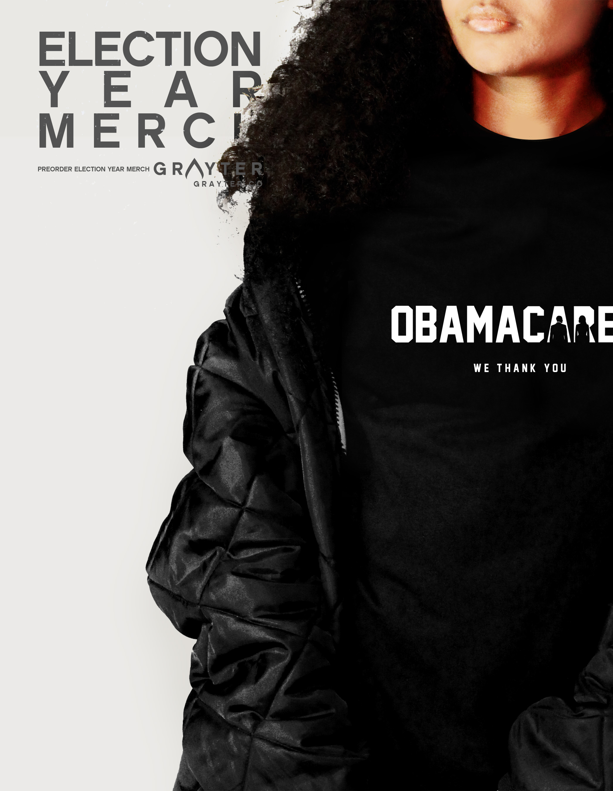 GRAYTER Store & Merch Launch: 3 Things to Know About the #Obamacared Shirt