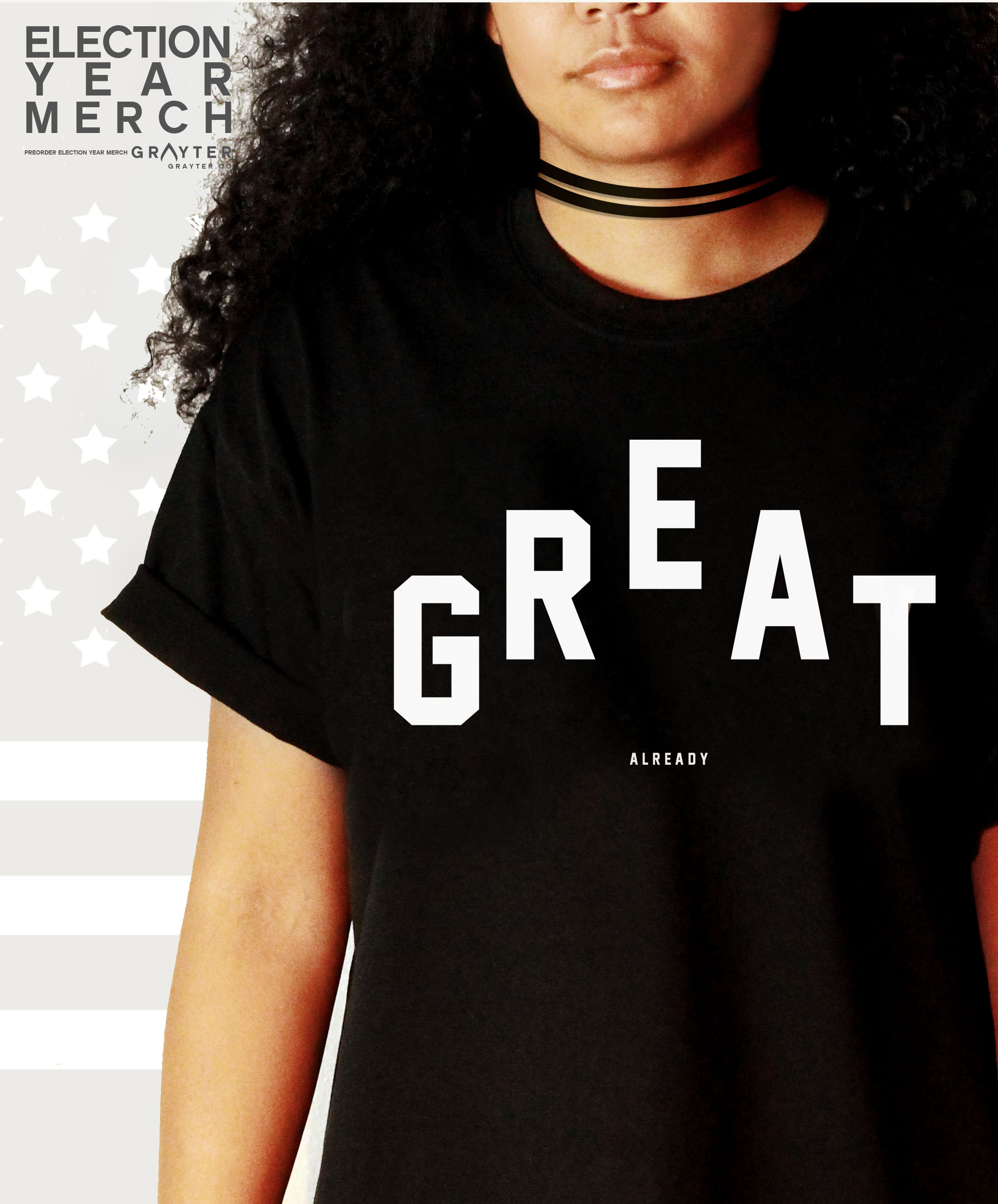 "GRAYTER Store & Merch Launch: 3 Things to Know about the ""GREAT Already"" Shirt"
