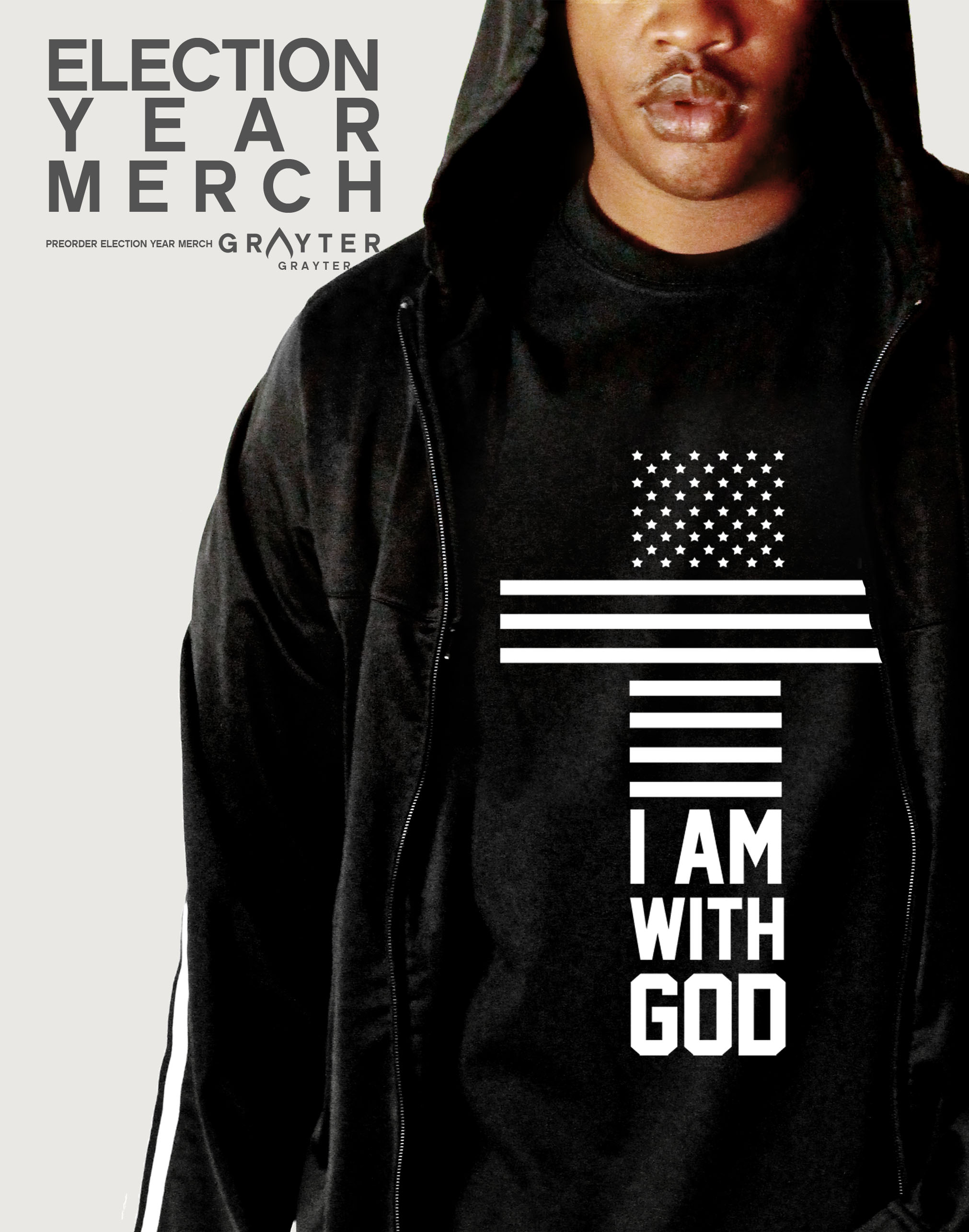 "GRAYTER Store & Merch Launch: 3 Things to Know About the ""I Am With God"" Shirt"